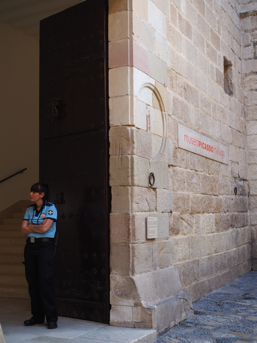 Museo Picasso löytyy Calle San Augustinin varrelta.