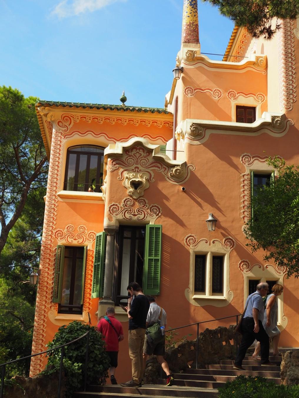 Talo, jossa Gaudi asui 20 vuotta.