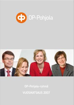 OP-Pohjola ryhmä vuosikertomus 2007