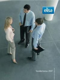 Elisan vuosikertomus 2007